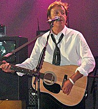 McCartney's BBC Electric Proms performance in Camden, London.