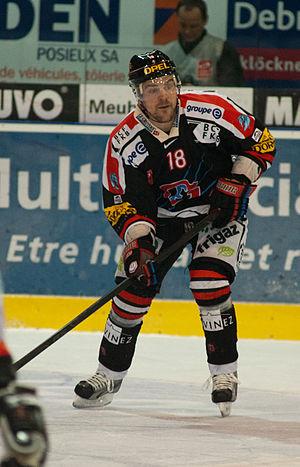 Pavel Rosa - Image: Pavel Rosa Fribourg Gotteron vs. HC Bienne, 25.11.2011