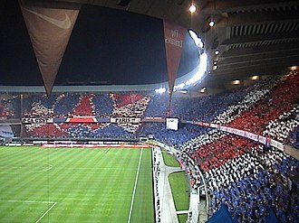 Ronaldinho - Ronaldinho arrived at the Parc des Princes (pictured) to much fanfare.