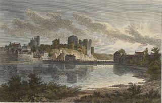 Pembroke Castle, from the N.E