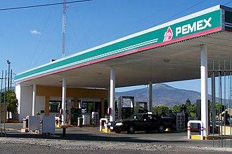 Pemex - Pemex gas station