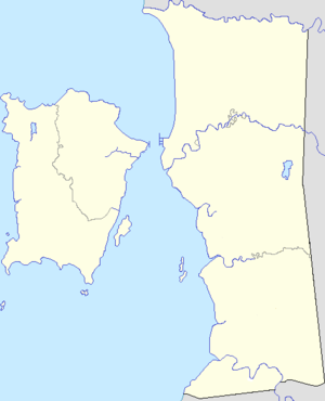 Penang is located in Penang