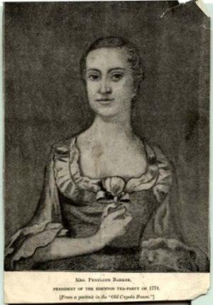 Penelope Barker - Image: Penelope Barker (1728 1796)