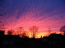 Pennsylvania-Geografia fisica-Pennsylvania Winter Sunset
