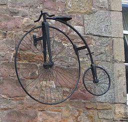 Penny-farthing in Edinburgh