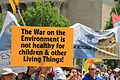 People's Climate March 2017 in Washington DC 31 - The War on the Environment is not healthy for children and other living beings.jpg