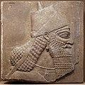 Periodo neo-assiro, rilievo di re ashurnasirpal II, da nimrud, palazzo nordoccidentale, 883-859 ac ca.jpg