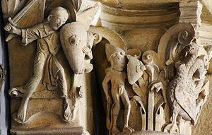 Medieval art - Romanesque carving