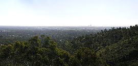 Perth Panorama from Lesmurdie Falls SMC.jpg