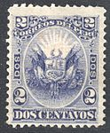 Peru 1874 Sc22 dark violet.jpg