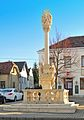 Pestsäule 11448 in A-2451 Hof am Leithaberge.jpg