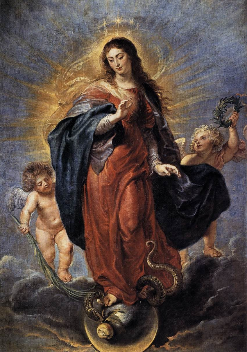 Peter Paul Rubens - Immaculate Conception - WGA20251