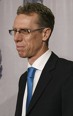 Peter Stöger, werd trainer in 2013/14