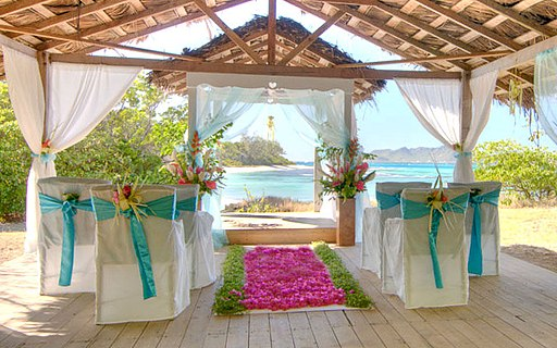 Petit St Vincent Island Wedding Venue