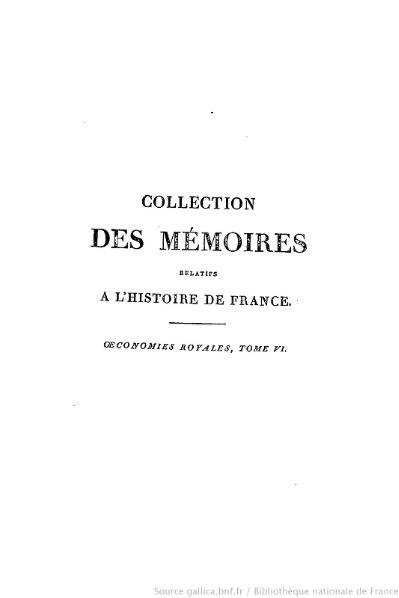File:Petitot - Collection complète des mémoires relatifs à l'histoire de France, 2e série, tome 6.djvu