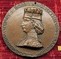 Petrecino da firenze, medaglia di borso d'este, 1460.JPG