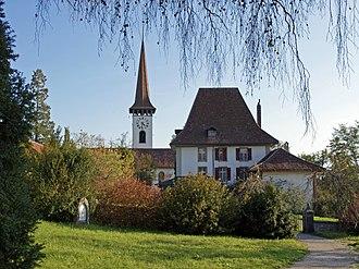 Münsingen - Münsingen rectory building