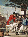 Philip Dawe (attributed), The Bostonians Paying the Excise-man, or Tarring and Feathering (1774).jpg