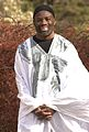 """Philip Emeagwali in white """"agbada."""".jpg"""