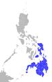 Philippine Tarsier geodistrib.png