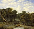 Philips Koninck and Adriaen van de Velde - Forest Clearing with Cattle LACMA M.87.97.jpg