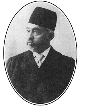 Morteza Gholi Khan Hedayat - Image: Photo of Mortez Qholi Khan Hedayat (Sani al dowleh) the First Chairman of the First Majlis Shora Melli