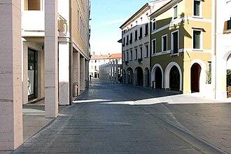 Motta di Livenza - Image: Piazza luzzatti