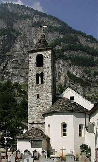 Zwischbergen - Gondo church