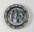 Pierre Reymond - Plate with the Month of September - Walters 44190.jpg