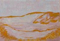 Piet Mondriaan - Dune sketch in orange, pink and blue - 0334302 - Kunstmuseum Den Haag.jpg