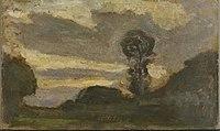 Piet Mondriaan - Isolated tree on the Gein with streaked sky - 0334277 - Kunstmuseum Den Haag.jpg