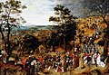 Pieter Brueghel the younger (1564-1565-1637-1638) - The Procession to Calvary - 959460 - National Trust.jpg