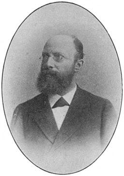 Pieter Lodewijk Muller - Onze Hoogleeraren (1898)