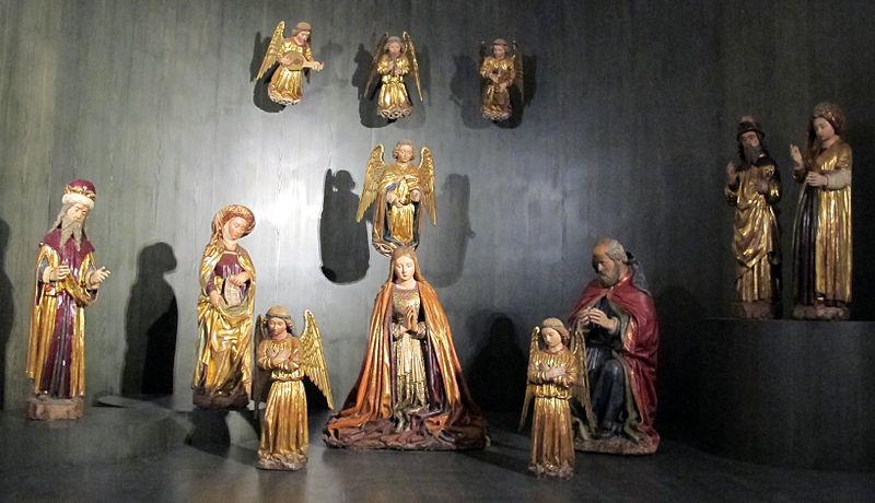 File:Pietro e giovanni alamanno, presepe di san giovanni a carbonara, 1478, 01.JPG