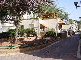 Hatikva Quarter - A street in Hatikva