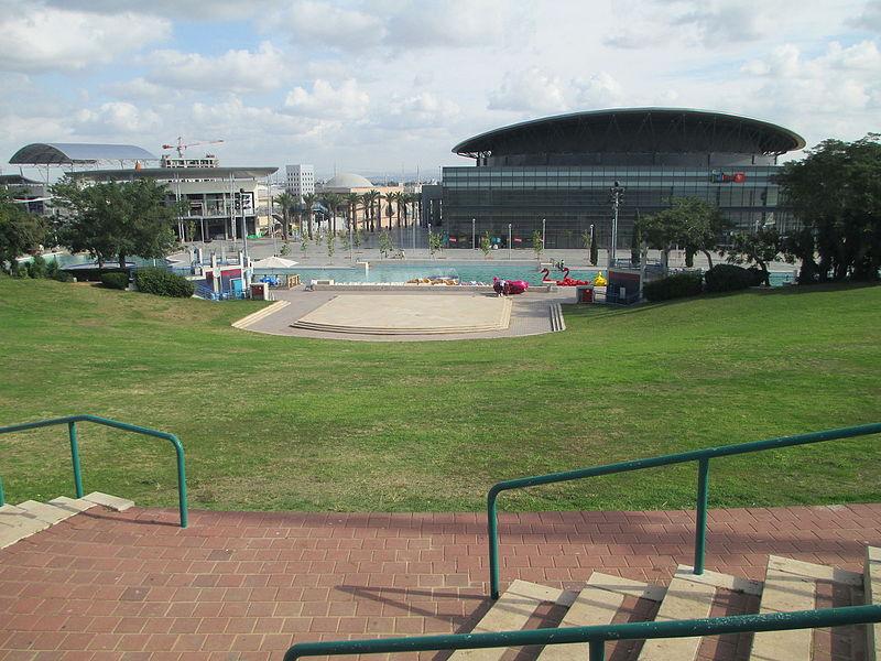 פארק פרס בחולון - אמפיתיאטרון