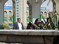 Pilgrims and People around the Holy shrine of Imam Reza at Niruz days - Mashhad - Khorasan - Iran 002.JPG