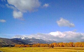 Deer Lodge County, Montana - Image: Pintlers 11