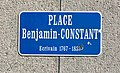 Place Benjamin-Constant à Lausanne - plaque de rue.jpg