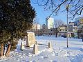 Place of National Memory on Towarowa Street at corner with Kotlarska Street in Warsaw - 01.jpg