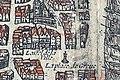 Plan de Paris vers 1530 Braun Paris place de Greves Hotel de ville.jpg
