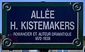 Plaque Allée Henry Kistemakers - Les Lilas (FR93) - 2021-04-27 - 1.jpg