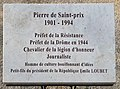 Plaque Pierre de Saint-Prix à Valence (Drôme).jpg
