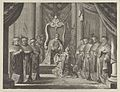 "Plate 8- Emperor Maximilian II granting a crown to the coat of arms of Amsterdam, from Caspar Barlaeus, ""Medicea Hospes"" MET DP855429.jpg"