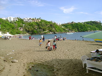 Colima - La Audiencia Beach in Manzanillo