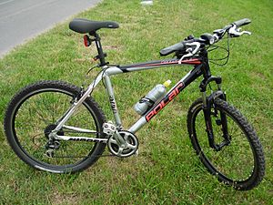 Polar mountain bike.