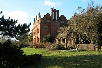 Astley, Worcestershire - Image: Pool House Astley(Philip Halling)Jan 2006