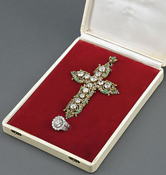 Pectoral cross - Pectoral of Pope Paul VI