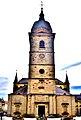 Porche et clocher de l'église Notre-Dame de Remiremont.jpg