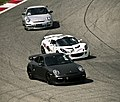 Porsche 997 GT2, 997 GT3 RS and Lotus Exige at Autodromo Vallelunga.jpg